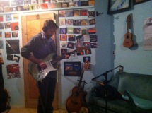 Tracking Guitar at Club Shmed