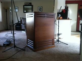 Hammond/Leslie Recording Day at Gold Nugget Studios